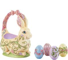 jim shore easter baskets jim shore heartwood creek 13th annual easter basket figurine page