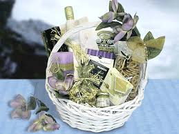 wedding baskets in lavender wedding basket large