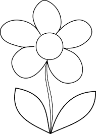 flowers drawing pages cliparts co