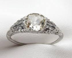 antique deco engagement rings archives