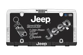 jeep grill sticker chroma graphics 58001 jeep travel kit with license plate frame