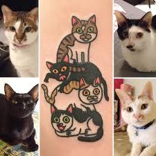 cartoon inspired pet tattoos capture individuality of beloved pets