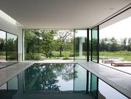 Indoor Pools Indoor Pool Villa In Ghent Belgium By Dirk Heveraet Architect