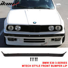 bmw e30 philippines 84 92 bmw e30 lower valance oe is v2 m tech msport front bumper