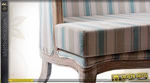 canape tissu rayures canapé de style ancien avec habillage tissu à rayures