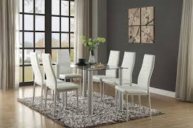 homelegance florian rectangular white dining set 5538w din set homelegance florian rectangular white dining set