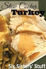 thanksgiving stuffed turkey breast crock pot turkey breast cook diary