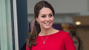 kate middleton stuns in a red dress with a revealing hemline don