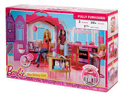 amazon com barbie glam getaway house toys u0026 games