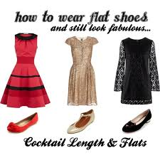 how to wear flat shoes u0026 still look fabulous dresses polyvore