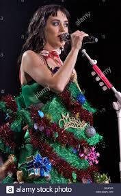 dec 14 2008 camden new jersey usa katy perry in christmas