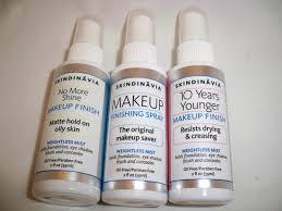 skindinavia makeup finish sprays review u0026 giveaway makeup by