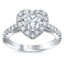 heart shaped engagement ring heart shaped halo diamond engagement ring