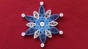 quilling snowflakes tutorial 2 ornament