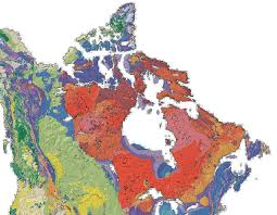 Map Of Canada And United States by Canadian Shield Wikipedia