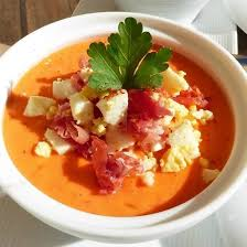 cuisine andalouse recette salmorejo soupe froide andalouse