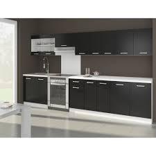 cuisine noir laqué cuisine complete noir laque achat vente cuisine complete noir