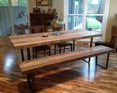 industrial dining table u0026 benches 6 seat vintage chic loft living