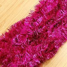 pink garland buy tinsel garland and get free shipping on aliexpress