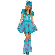sully costume sully costume for women monsters inc fancy dress