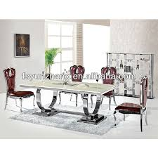 Dining Table Chairs Purchase Stainless Steel Dining Table And Chair Sets Stainless Steel