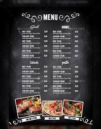 photoshop menu template cafe menu template 40 free word pdf psd eps indesign format