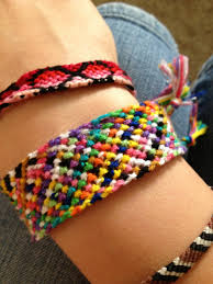 Rag Rug Friendship Bracelet Normal Friendship Bracelet Pattern 1021 Braceletbook Com