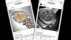 rolex magazine ads instagram passes milestone of 1m advertisers