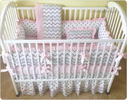 Crib Bedding Set With Bumper Crib Bedding Etsy