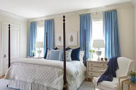 Dusty Blue Curtains Cornflower Blue Curtains Design Ideas