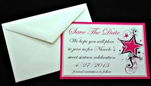 birthday save the date ideas watercolor vector template with