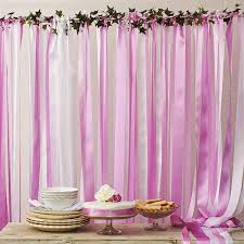 candy pinks wedding backdrop by just add a dress