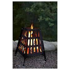 brokö fire basket outdoor black ikea