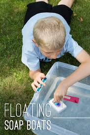 floating soap boats easy summer fun fireflies and mud pies