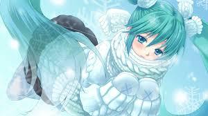 winter anime wallpaper hd wallpaper illustration anime winter vocaloid girl wing