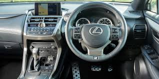 lexus crossover inside lexus nx review carwow