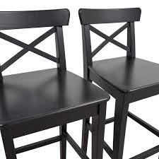 ikea furniture online 42 off ikea ikea wooden barstool chairs chairs