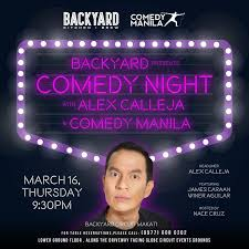 Backyard Comedy Shows Comedy Manila