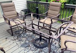 some glass patio tables are shattering without warning dwym