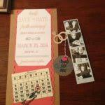 inexpensive save the dates diy save the dates and photo strips brown card stock cheap diy save