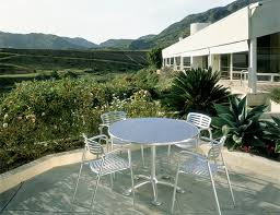 Frank Gehry Outdoor Furniture by Pensi Table Knoll