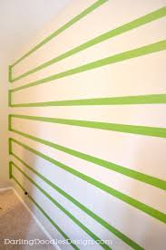 clean lines how to paint crisp clean lines on textured walls darling doodles