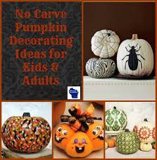 Decorate Pumpkin No Carve Pumpkin Decorating Ideas Wisconsin Homemaker
