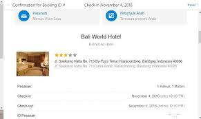 agoda lembang kode booking dari agoda com picture of bali world hotel bandung