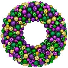 mardi gras wreaths 24 mixed mardi gras wreath xw1348gt mardigrasoutlet