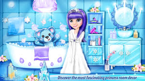 ice princess castle decoration android apps on google play