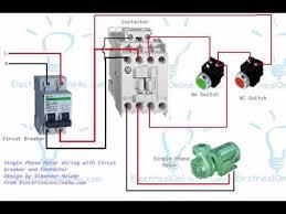 single phase dol motor wiring diagram the best wiring diagram 2017