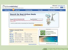 how to buy cheap airline tickets 9 steps with pictures