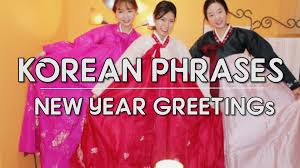 korean new year card new year greeting phrases in korean happy new year in korean