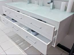 Flat Pack Bathroom Cabinets by Mdf White Painted Particle Board Side Bathroom Vanities With